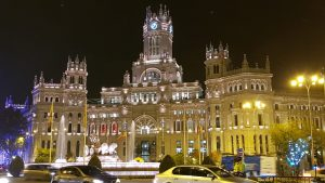 Madrid: Plaza de Cibeles